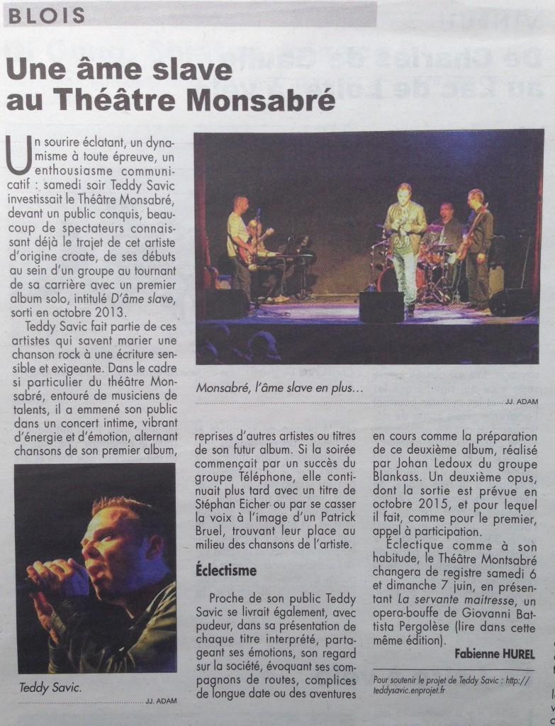 La Renaissance du Loir & Cher (5juin2015)